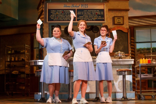 The original Broadway production of Waitress - Photographer Joan Marcu
