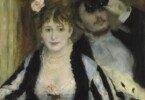 courthold impressionists detail renoir la loge