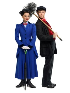 Marry Poppins stars: Zizi Strallen and Charlie Stemp