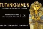 Tutankhamun breaks in London