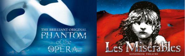 Les Mis and Phantom