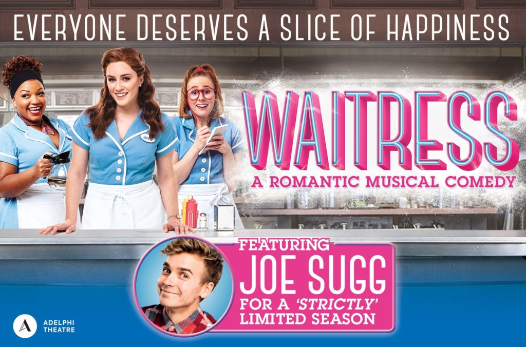 Joe Sugg in Waitress