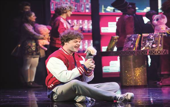 Big the musical in London theatre breaks