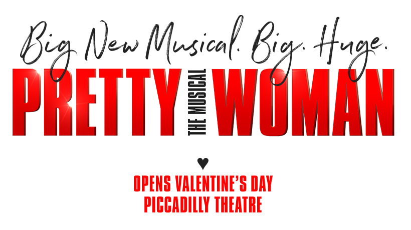 Pretty Woman The musical poster for the London show opeing in 2020
